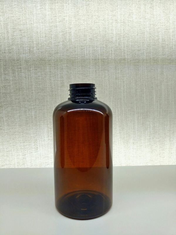 Oil & Fat Resistance PET Cosmetic Bottles / Amber Pet Bottles Free Samples For Stock
