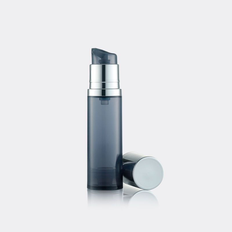 Round Design Mini PP Airless Bottle Ege Cream Pump Dispenser Bottle